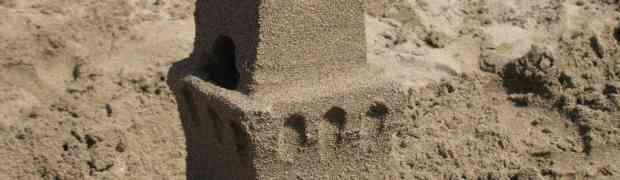 Costruire un castello di sabbia che stupisce