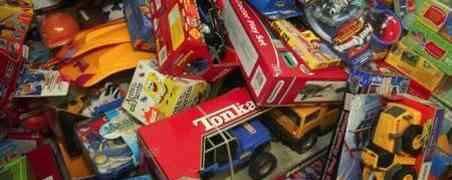 Una apparente varietà di giocattoli
