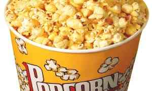 Pop corn fatti in casa come al cinema