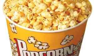 Pop corn fatti in casa come al cinema